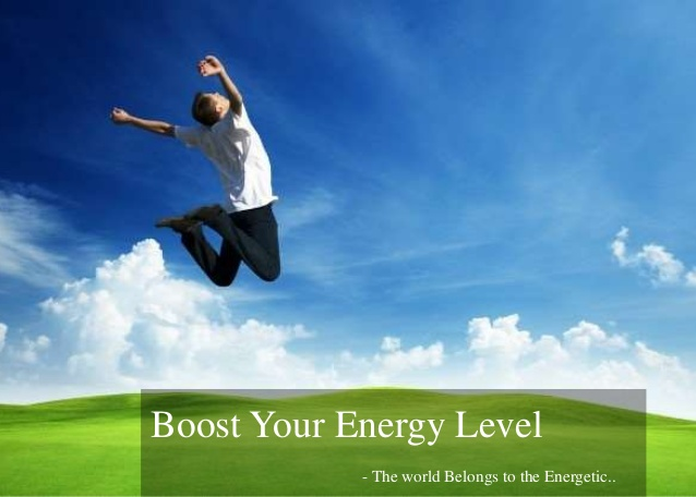 9 natural ways to boost up your energy level!!